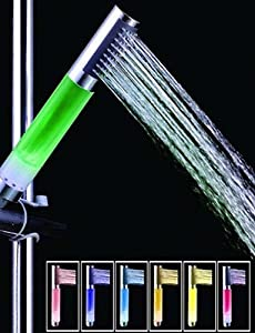 well-wreapped SAEKJJ-7-Color ABS LED Color Changing Hand Shower Bathroom faucet