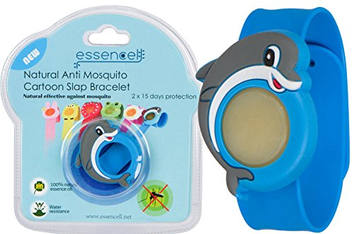 essencell-waterproof-deet-free-natural-mosquito-repellent-cartoon-slap-bracelet-with-2-refills-blue-