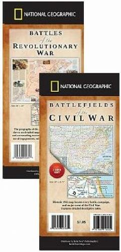 (Military History Map Pack - Battles of the Revolutionary & Civil Wars)