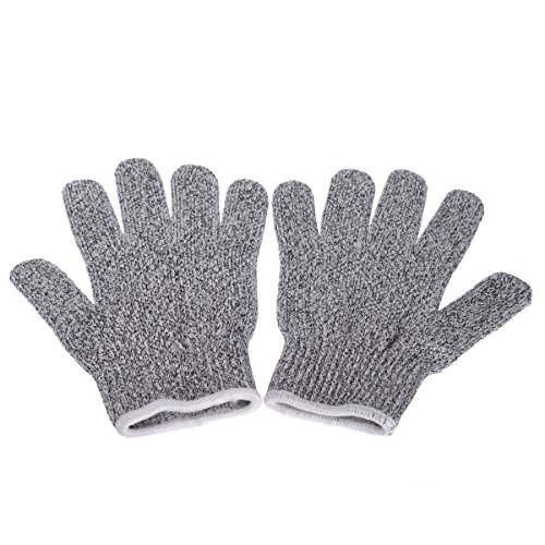 LiviMate Cut Resistant Gloves Offer Safe and Secure Hand Protection, Comfortable Grip High Performance Gloves (Medium) (Mechanix Glove Foliage)