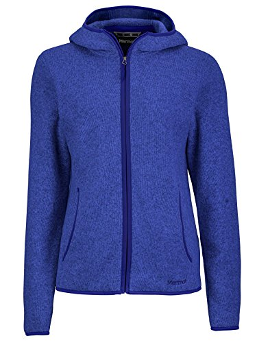 Marmot Norhiem Women's Sweater Knit Fleece Jacket, Gemstone, X-Large ()