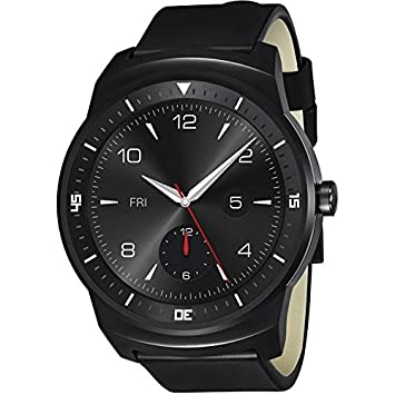 LG W110 - Reloj inteligente, color negro