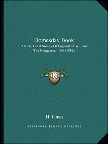 Amazon Com Domesday Book Or The Great Survey Of England Of