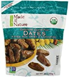 Made in Nature Organic Sun-Dried Deglet Noor Dates, Pitted, 28 Ounce