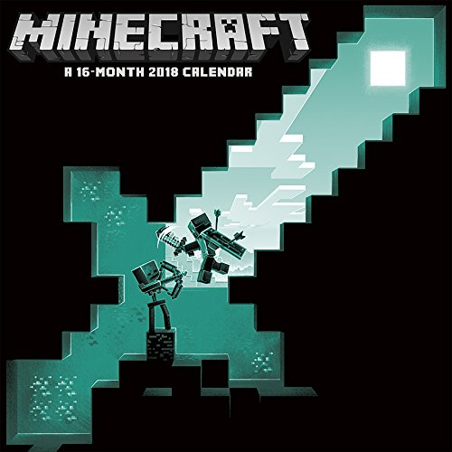 Minecraft 2018 Wall Calendar cover