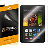 """[3-Pack] SUPERSHIELDZ- High Definition Clear Screen Protector For Amazon Kindle Fire HDX 7"""" 7 inch Tablet + Lifetime Replacements Warranty [3-PACK] - Retail Packaging"""