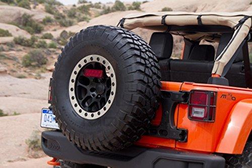 Mopar OEM 2007-2016 Jeep Wrangler JK Outside Spare TIRE Carrier CAST Aluminum Tailgate Hinge System 82214770