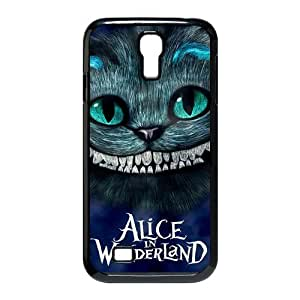 Galaxy S4 Case,Stylish Alice in Wonderland Design Phone case,Customized Cover Case for Samsung Galaxy S4,Alice in Wonderland Wallet Case for Galaxy S4