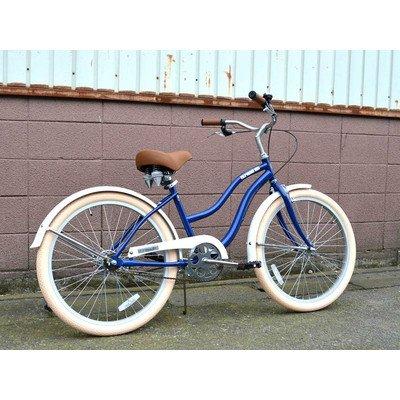 ビーチクルーザー サンタクルーズ ネイビー 自転車 BEACH CRUISER SANTA CRUZ NAVY B01LW8DJRM