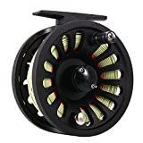 Isafish Fly Reel 5/6 Wt with Fly Line Weight Forward WF-6F with Welded