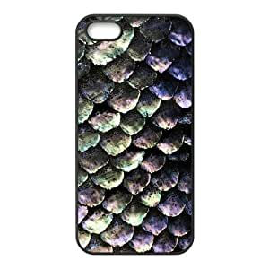 Custom Mermaid Scales Fantastic Durable Protector Back Cover Case for iPhone 5 5s TPU