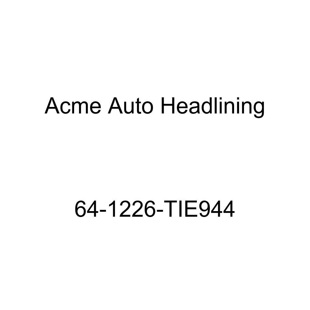 Oldsmobile F85 4 Door Sedan 5 Bows Acme Auto Headlining 64-1226-TIE944 White Replacement Headliner