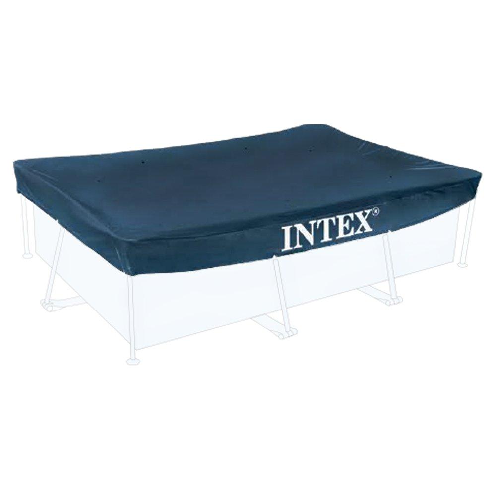 Telo copripiscina rettangolare per intex frame varie misure ebay - Telo copertura piscina intex ...