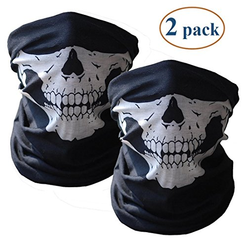 Motorcycle Skull Face Mask - 3