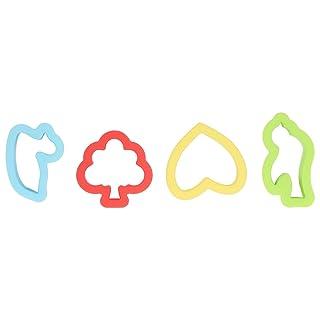 Cikuso Set di plastica Colorato taglierina Cookie Stampo Stampo Strumento con Varie Forme di Piante di Animali