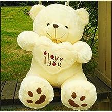 50 Cm Lovely Teddy Bear Big Toys Stuffed Plush Animals Hold the Heart Bear
