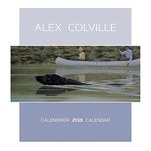 Alex Colville 2019 Wall Calendar