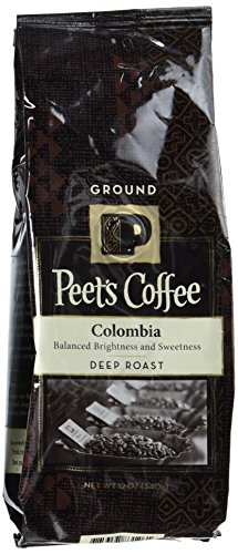 Peets Coffee Colombia Ground 12 Ounce