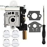 Dalom SRM230 Carburetor w Carb Adjustment Tool for Echo SRM 230 SRM231 GT230 GT231 PE230 PE231 PAS230 PAS231 PPT230 PPT231 Trimmer