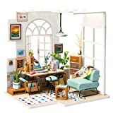 Cheap Rolife Diy Wooden Miniature Dollhouse Kit With Led Light-Mini House Woodcraft Construction Kit-3d Wooden Puzzle-Model Building Sets-Perfect Birthday Mothers day Gift for Boys and Girls (Office)