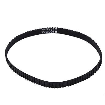 1pc B100 MXL Correa de Sincronización Cinturón de Goma Sincronizada Cinturón de Distribución de Anchura de