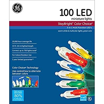 Amazon Com Ge Staybright 100 Count Multi Function Color