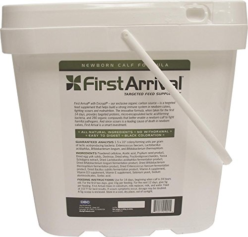 Dbc Agricultural Prdts 018621 First Arrival Targeted Feed Supplement for Calf 4000G Pail