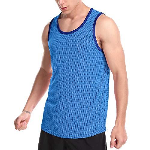 Zengjo Mens Tank Tops Sleeveless Shirts for Gym/Running/Workout