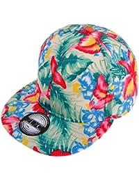 3f2402e260b Women Fashion Floral Print Adjustable Casual Snapback Baseball Cap Hat