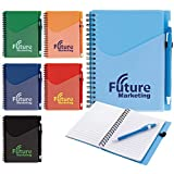 Good Value Surf Notebook with Dart Pen Red 500 Pack