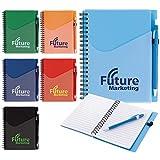 Good Value Surf Notebook with Dart Pen Aqua 250 Pack