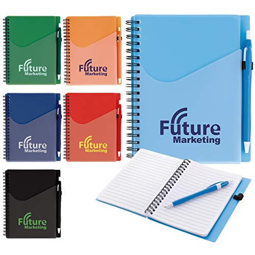 Good Value Surf Notebook with Dart Pen Aqua 250 Pack by Good Value (Image #1)