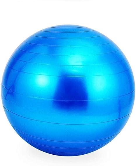 Pelota de ejercicio (55 cm) para yoga en el aula, pilates, abdomen ...