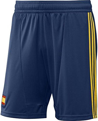 adidas España Equipo Nacional de fútbol Pantalones Cortos para Hombre fútbol Corto Climacool: Amazon.es: Deportes y aire libre