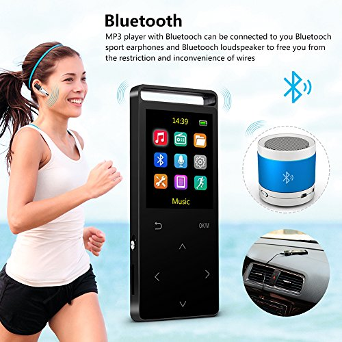 best mp3 players 2018 9 best bluetooth mp3 players. Black Bedroom Furniture Sets. Home Design Ideas