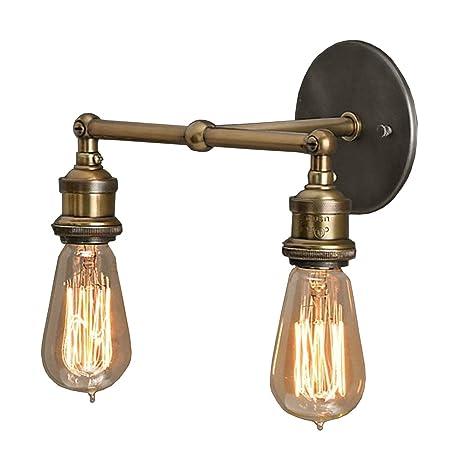 Vintage style lighting fixtures Industrial Style Image Unavailable Amazoncom Baycheer Hl372217 Industrial Retro Vintage Style Light Double Expose