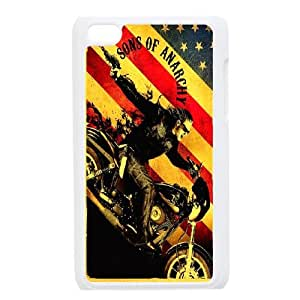 Custom Case Sons of Anarchy For Ipod Touch 4 Q3V423596