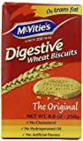 McVities Digestive Wheat Biscuits, 8.8 Ounce (Pack of 6)