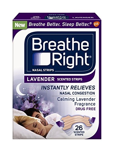 Breathe Right Strips Nasal Lavender product image