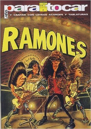 RAMONES - Cancionero (Letras y Acordes) para Guitarra: Amazon.es ...