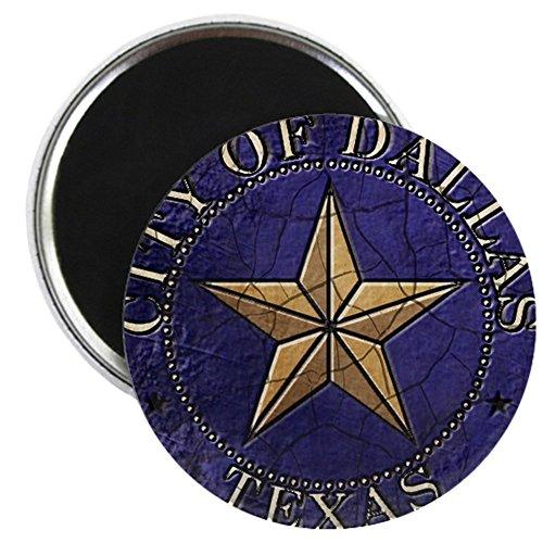 CafePress - Dallas Vintage Seal - 2.25