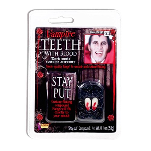 Forum Novelties 64393 Vampire Fangs with