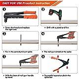 AOBEN Rivet Gun, Professional Rivet Gun Kit with