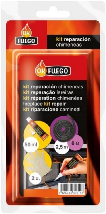 Flower - Kit Reparacion Chimeneas para Juntas 8Cm. 50246