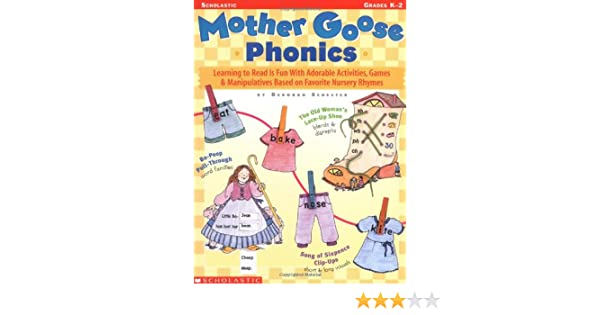 Amazon mother goose phonics learning to read is fun with amazon mother goose phonics learning to read is fun with adorable activities games and manipulatives based on favorite nursery rhymes fandeluxe Gallery