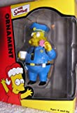Simpsons Character Chief Clancy Wiggum Chrsitmas Ornament 2002