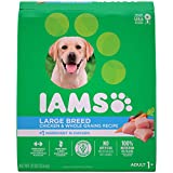 IAMS Adult Large Breed Dry Dog Food Chicken and Whole Grains Recipe 13.61 (30LB)