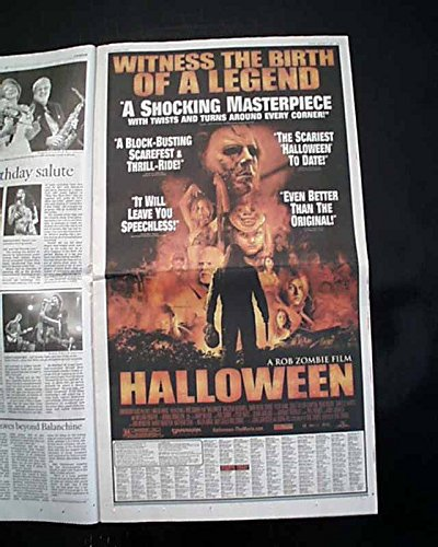Best HALLOWEEN Rob Zombie Horror Film Movie Opening