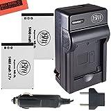 BM Premium 2-Pack Of NB-5L Batteries & Battery Charger Kit for Canon PowerShot S100, S110, SX200 HS, SX210, HS SX230 HS Digital Camera