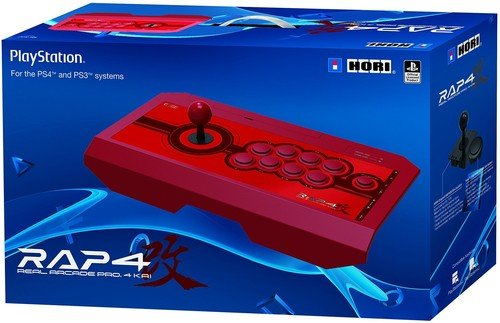 HORI Real Arcade Pro 4 Kai (Red) for PlayStation 4, PlayStation 3, and PC - PlayStation ()